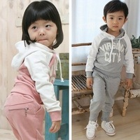 Retail, Hot sell, New Sports Set 2 PCS sport clothing Set baby wear Kids Suit available