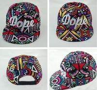 2014 New Popular Geometric Pattern Colorful Fashion Baseball Cap Men & Women Hip Hop Hat