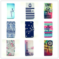For Samsung Galaxy Alpha G850 G850F Case Wallet Cartoon Design Magnetic Holster Flip PU Leather Phone Cases Cover D1186-A