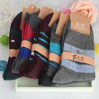 Men's man mens cotton weed basketball winter wool socks cotton sock for men wholesale winter warm breathable sweat casual dress