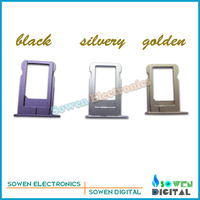 for iPhone 6 4.7 inch Sim Card Tray Slot Holder Sim Cards Black/Silver/Gold,original new.