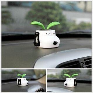 High Quality Solar cartoon flower series Solar Bobblehead solar toys Car accessories Car decoration Vehicle Solar energy(China (Mainland))