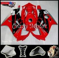 * 1997 18998 CBR600F3 Fairing red black Body Kit For Honda Ninja CBR600F3 1997 1998 97-98 ABS Plastic Bodywork Set