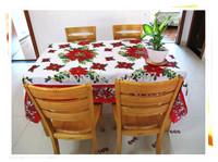 1.5X1.8 Christmas big table cloth Christmas table fabric table cloth table cover free shipping
