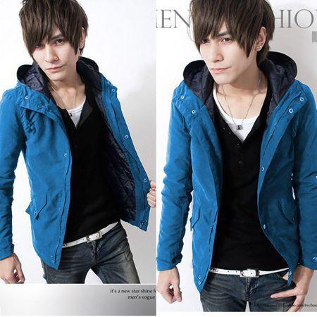 men jacket sweatshirts winter jacket men fashion zipper mens hooded jackets coats cool man suit colorful size M L XL XXL MXA0015(China (Mainland))