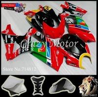 * 2007 2008 GSXR1000 Fairing black Red  Body Kit For SUZUKI Ninja GSXR1000 2007 2008 2007-2008 GSXR1000  ABS Plastic Bodywork