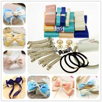 free shipping hair clips material ribbon set and handmade ribbon set and ribbons for handmade