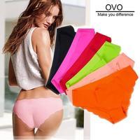 free shipping! Sexy shorts Ultra-thin No trace panties briefs 5pcs/lot underwear women F.NK.W.006