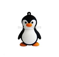 100% real capacity Penguin animal 4gb/8gb/16gb penguin Memory Stick pen drive avenger usb flash drive