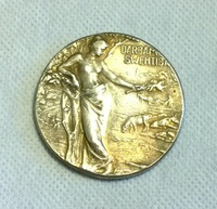 Silver-plated: RUSSIA  COIN (47.5MNM)COPY FREE SHIPPING