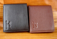New Genuine Cow Leather Business Fashion Men's Short Wallet Casual New Brand OL Purse Clutch Wallets