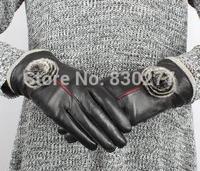 Tian Shun    Ms. Rex wool warm leather gloves    TS2-106