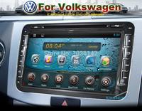 "8"" Digital Capacitive Screen Head Unit 2 DIN Dash Car DVD GPS BT Radio Stereo VW PASSAT CC Golf 5 Tiguan Touran EOS Android 4.2"