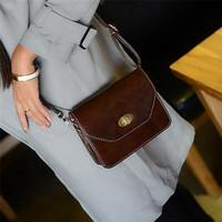 2014 fashion women messenger bags small vintage British brand phone purse  PU leather designer women handbags 4 colors promotion