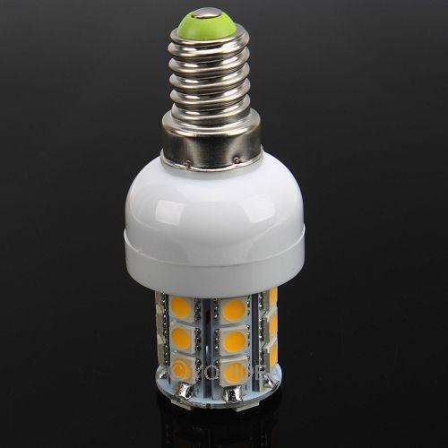 2PCs FREE SHIPPING CHEAP E14 LED SPOT LIGHT BULBS BRIGHTER 5.5W 5050 SMD 27 460LM AC 220V Energy Saving 80200(China (Mainland))