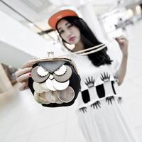 2014 autumn owl mini chain of packet women's messenger bag fashion handbag