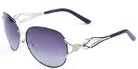 50 pcs EMS Wholesale Fashion Aviator Sunglasses Driving Sun Glasses Polarized Sunglass Cycling Sun Glasses Eyewear ESDV163