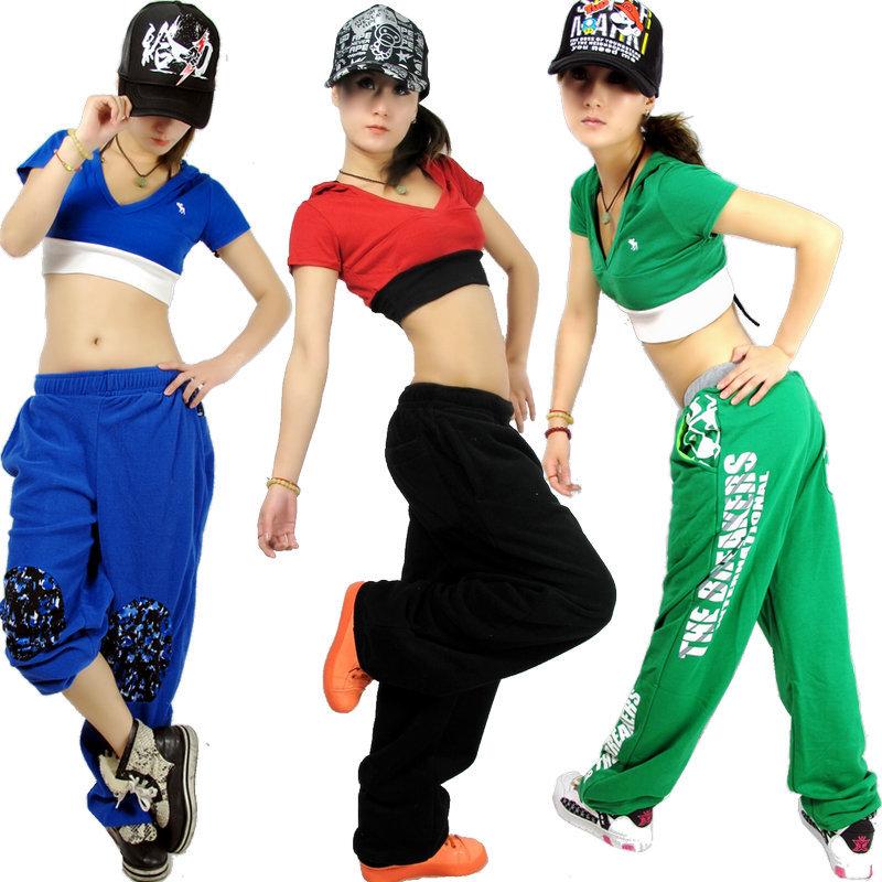 Hip Hop Dance Group Outfits New Fashion Brand Women Clothing Hip Hop Dance Short Top Female Jazz ds