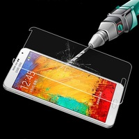 Note 2 7100 0.33mm/0.26mm Ultimate Premium Tempered Glass Screen Protector Anti Shatter Film Explosion-Proof