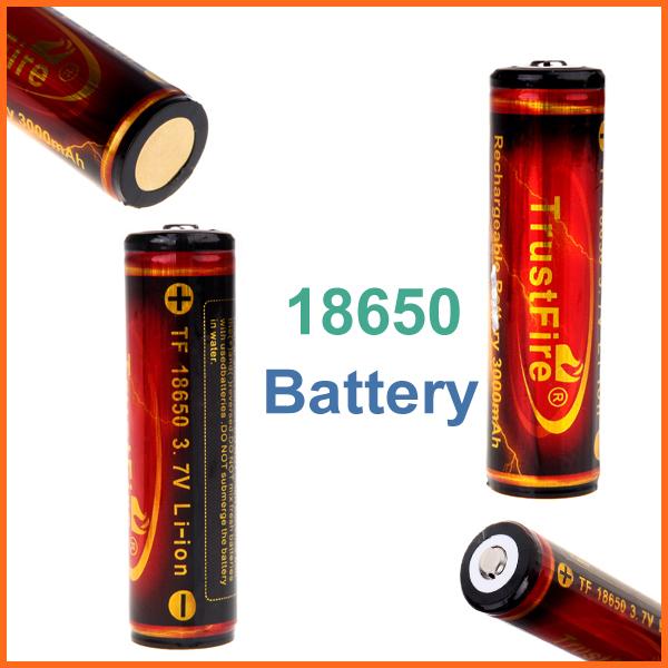 Аккумулятор OEM PCB TrustFire 18650 3.7V 3000mAh H10611 аккумулятор oem 4 samsung 18650 2600mah