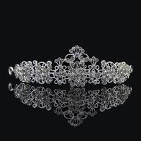 Free shipping 2014 hot promo cheap wedding hair tiara Vintage bridal hair jewelry crystal crown rhinestone woman accessory XB43