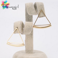 Zinc Alloy Triangle Simple Stud Earrings High Quality Hot Sale Special Gift Punk Fashion Earring For Women[xcr120902]
