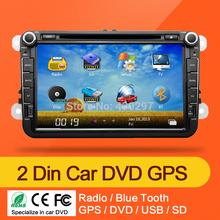2din VW Car DVD GPS Navi  GOLF 6 new polo New Bora JETTA MK4 B6 PASSAT Tiguan SKODA OCTAVIA Fabia(China (Mainland))