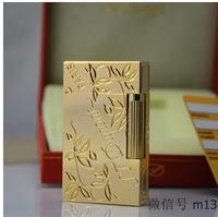 Promotional stdupontD Dupont lighters copper broke lighters Golden Clover