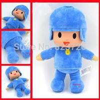 "10Pcs/set Pocoyo Plush Baby Toys 10"" Cartoon Soft Doll Pocoyo Stuffed Figure Toy For Kids Best Christmas gift Free Shipping"