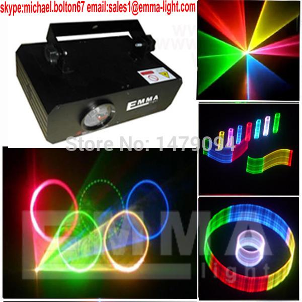 Retail sale 500mW RGB animation effect Mini laser light Wedding dj disco party lights dmx laser stage lighting(China (Mainland))