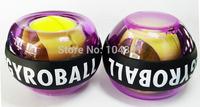 2pcs/lot Fashion Hot Force Ball Gyro Wrist Ball Blue Orange Purple Power Ball Arm Exercise Strengthener