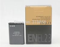 Replacement EN-EL23 EN EL23 ENEL23 Digital Camera Battery for Nikon CoolPix p600 S810C