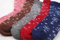 New Year Gift High Quality 5Pairs/Box Cotton Women Socks Christmas Sock Gift Girls Sports Winter Autumn Lovely Socks B378