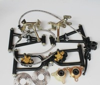 Refit the four-wheel beach car steers the go kart parts suspension braking claw steering rotary Kit