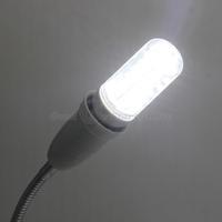 1 pcs High Quality E14 7W 36 SMD 5730 Transparent cover LED Corn Bulb Pure/Warm White 110V/240V Drop Shipping