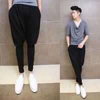 2014 Korean version of harem pants feet influx of men's casual trousers pants low pants pants collapse K34 p75