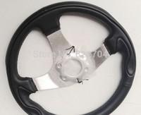 Steering wheel refitting kart accessories ATV ATV four rounds of 6 holes of the new steering wheel