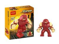 wholesale Decool191 super hero Marvel X Men big juggernaut minifigures block toys Building Block bricks action figures Toys