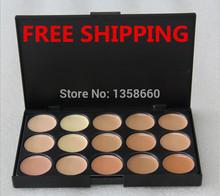 hot 2 Color choose ! 15 colors Concealer Neutral Palette 15 color makeup tools scar cream Face concealer Camouflage Makeup brand