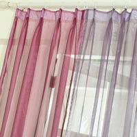 Modern pure color cloth window screening piaochuang curtain window screening tulle curtains embroidered