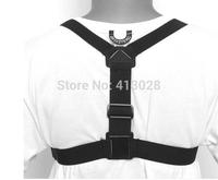Harness Adjustable Chest Strap Mount belt for GoPro Hero 1 2 3 4 hero3+,hero4 Camera Suptig DV Skiing,cycling,rowing sport 5pcs