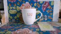 China Bone Ceramic Cup with handle 400ML coffee cup mug