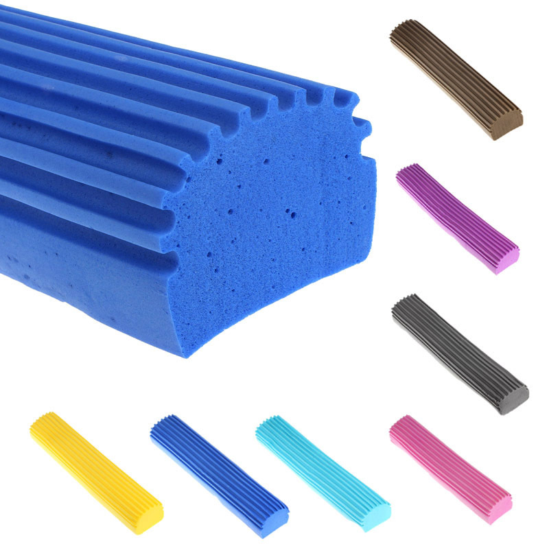2014 New Arrival PVA Sponge Foam Rubber Mop Head Replacement Home Floor Cleaning Free shipping&Wholesale Kimisohand(China (Mainland))