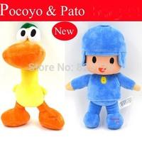 10Pcs/Set Lovely Pocoyo & Friends Elly Pato Soft Plush Stuffed Toys 25cm Dolls Movie Action Figures Children Christmas Gift