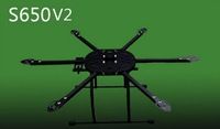 6-axial/Hexacopter DIY Frame - Folding Design S650 V2 free shipping