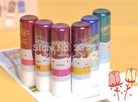 6pcs/lot  6 kinds of flavor Moisturizing Lip Balm baby lips smacker free shipping maquiagem