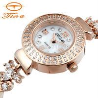 New Fashion Gold Watch Luxury Brand Women Dress Watch Quartz Casual Watch.Wristwatch waterproof 30ATM Clock Relogios Reloj Mujer