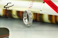 fashion unique elegant simple  925 silver woman ring /  ring woman