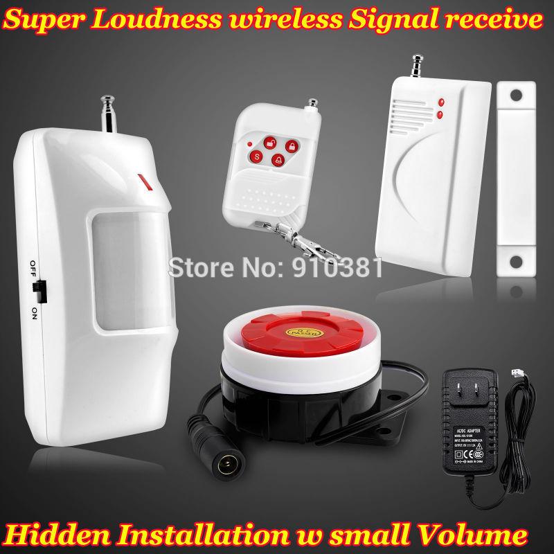 Nouveau 433 mhz capteur sans fil pour 32 garde zones d'accueil sirène d'alarme d'intrusion du système de sécurité antivol alarme pour la maison de protection de la maison