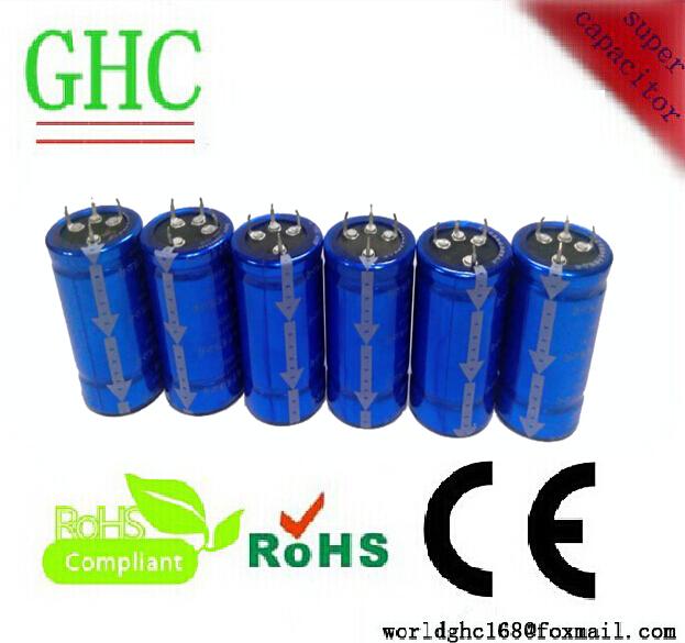 Low ESR super capacitor 400f 2.7v ultra capacitor farad capacitor(China (Mainland))